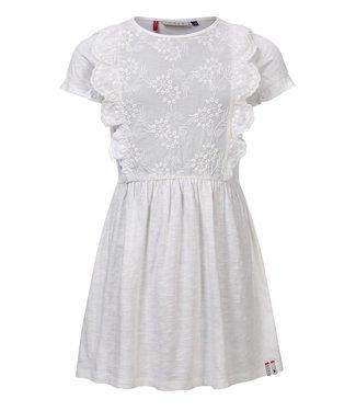 LOOXS LITTLE Little dress ivory