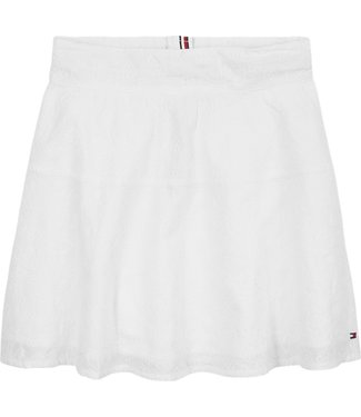 Tommy Hilfiger BRODERIE ANGLAISE SKIRT