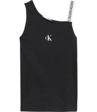 Calvin Klein LOGO TOP BLACK