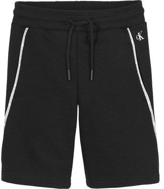 Calvin Klein PIPING SHORTS BLACK