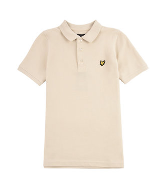 Lyle & Scott CLASSIC POLO OYSTER