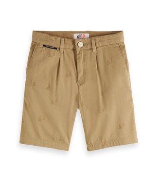 Scotch & Soda Allover print chino shorts combo Q