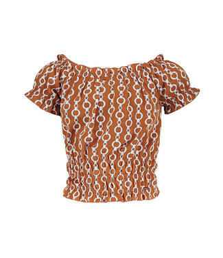 Frankie & Liberty Thirza Blouse chain sienna