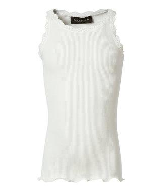 Rosemunde Silk top lace white