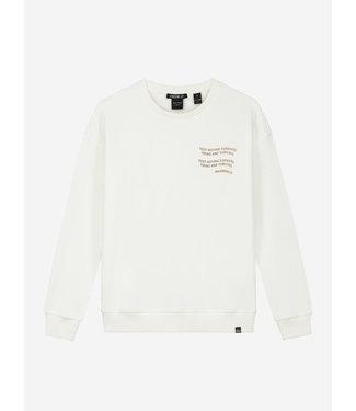 Nik & Nik Keep Sweater vintage white