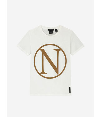 Nik & Nik Kim N T-Shirt offwhite