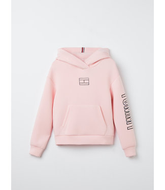 Tommy Hilfiger TOMMY REFLECTIVE PRINT HOODIE PINK