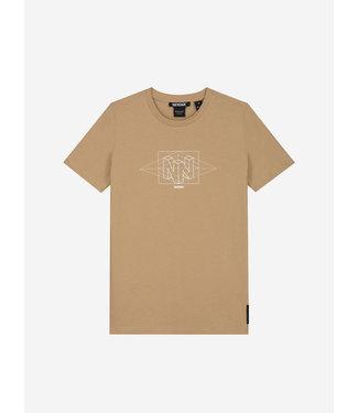Nik & Nik Wesley T-Shirt Clay Beige