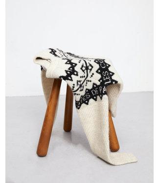 Les Coyotes de Paris Pippy knit nordic offwhite