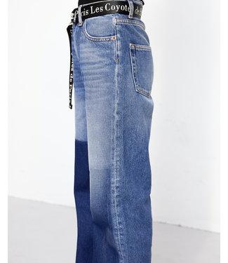 Les Coyotes de Paris Ella denim wide leg jeans