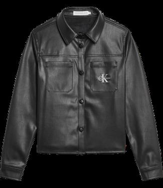 Calvin Klein PROVOCATIVE LS SHIRT BLACK