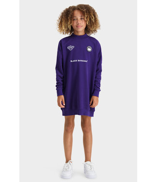 Black Bananas Jr Grl Cyber Dress purple