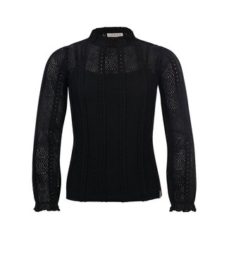 LOOXS 10SIXTEEN Lace top black