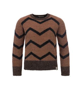 LOOXS 10SIXTEEN Pullover medium brown