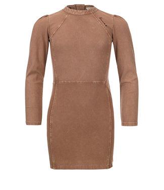 LOOXS 10SIXTEEN G.dyed twill jog dress medium brown