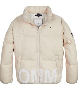 Tommy Hilfiger TONAL TOMMY PUFFER STONE