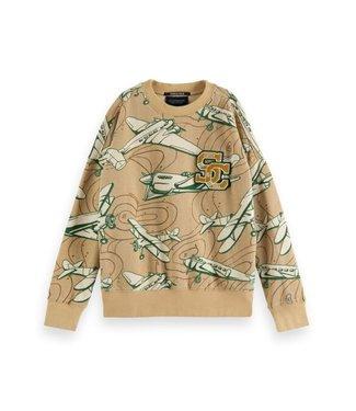 Scotch & Soda Oversized-fit sweatshirt combo K