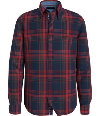 Tommy Hilfiger CLASSIC CHECK SHIRT RED
