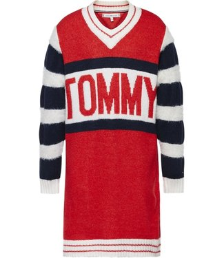 Tommy Hilfiger BOLD TOMMY SWEATER RED