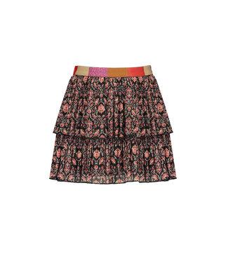 NONO Nikki plissee short skirt red velvet cake
