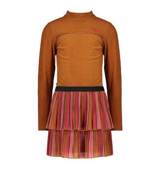 NONO Mika B combi dress ruby