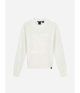 Nik & Nik Neomara Pullover Off White