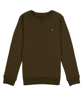 Lyle & Scott Classic cn sweater dark olive