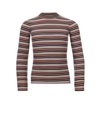 LOOXS 10SIXTEEN Striped l.sleeve t-shirt