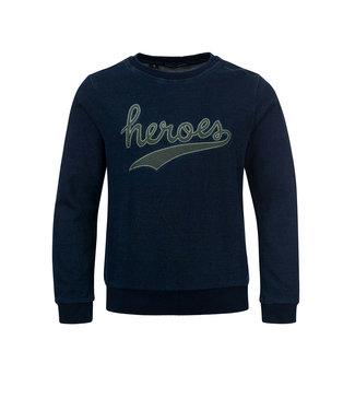 Common Heroes CAS Sweater indigo