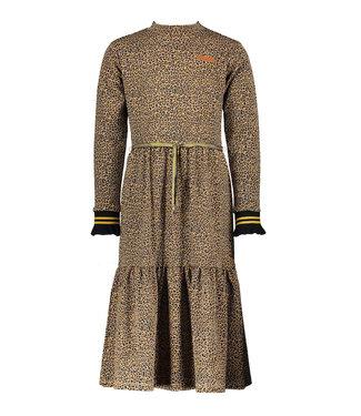 NONO Mirthy maxi Leopard jersey dress animal