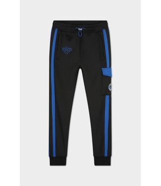 Black Bananas Jr Analog Trackpants black/blue