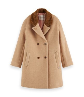Scotch & Soda Oversized wool coat combo R