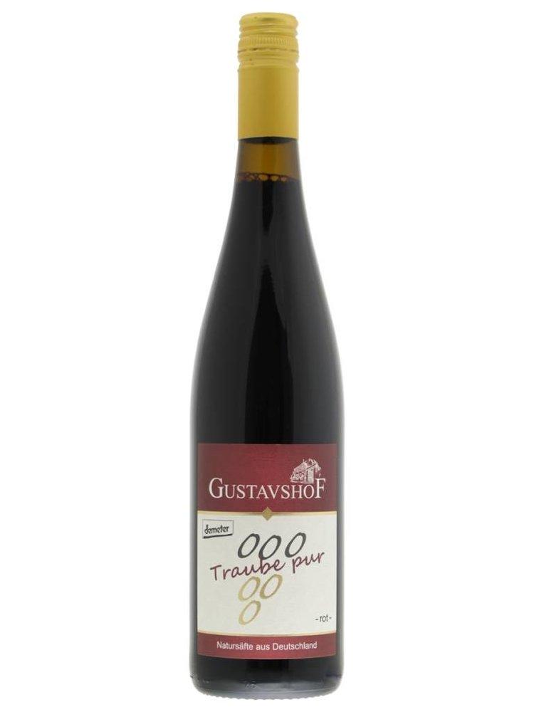 Gustavshof Traube Pur - Bio druivensap Rood