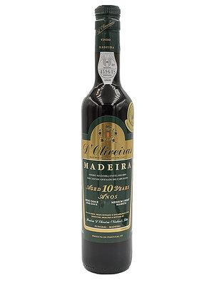 D'Oliveiras Madeira 10 Years Medium Sweet - 0,5L