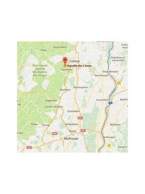 Vignoble des 2 Lunes Cremant d' Alsace Clair 2 Lunes 2013