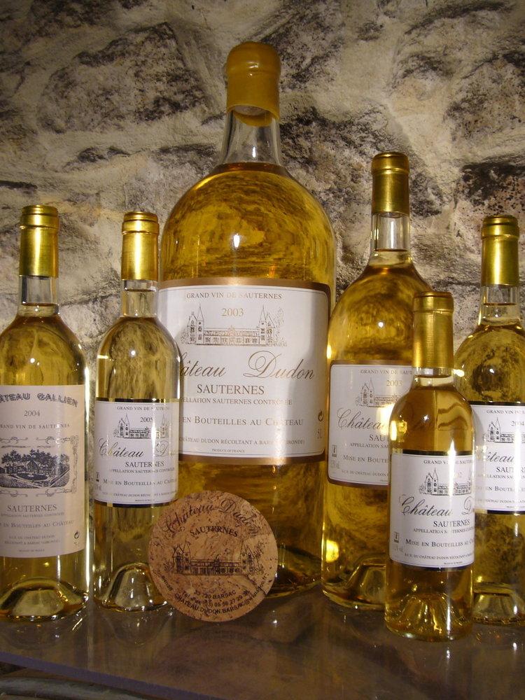 Château Dudon Sauternes 2015