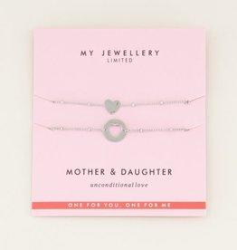 My Jewellery moeder dochter set