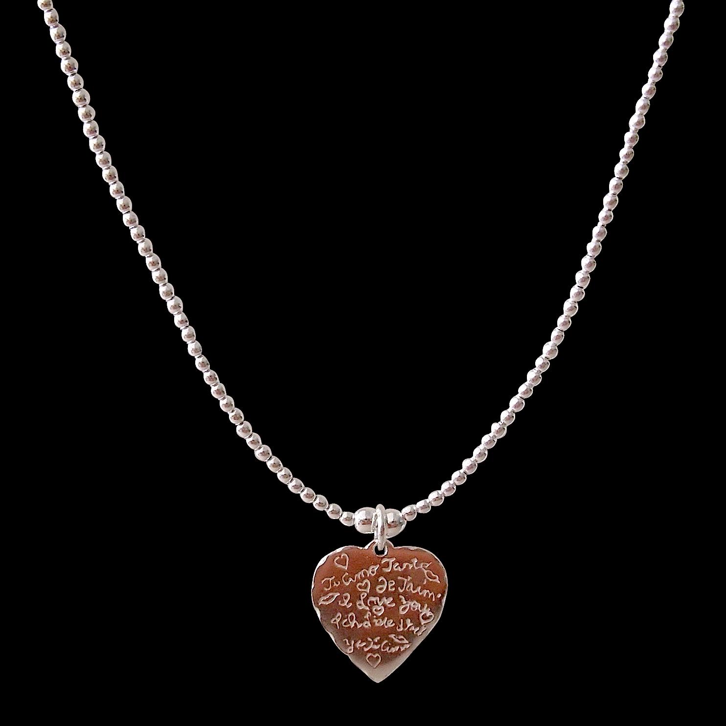 JOY tarquina necklace Ti Amo