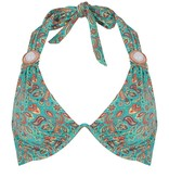 BOHO Bikini Top Triangel Brace - Sea Green