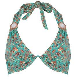 BOHO Bikini Top Triangel Brace - Sea Green
