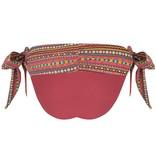 BOHO Bikini Bottum Aztec - Burgundy