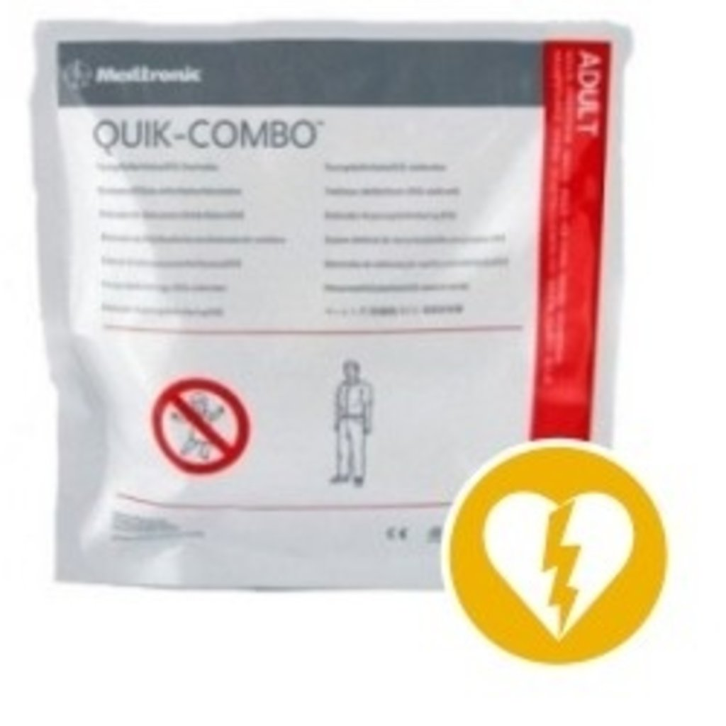Physio-Control Électrodes Combo Physio-Control (Medtronic) Lifepak Quik