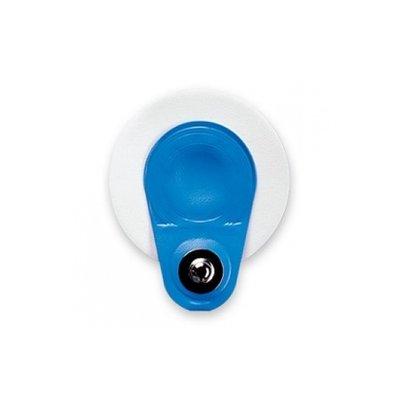 AMBU Blue Sensor M - électrode de repos ECG en gel humide avec raccord en A 4 mm / 1000pcs (20x50)