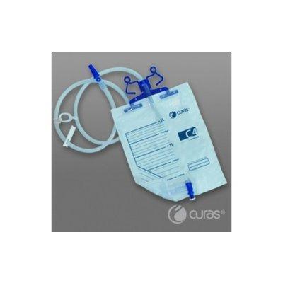 Curas Sac à urine C4 2L 100cm robinet croisé stérile/ 100pc