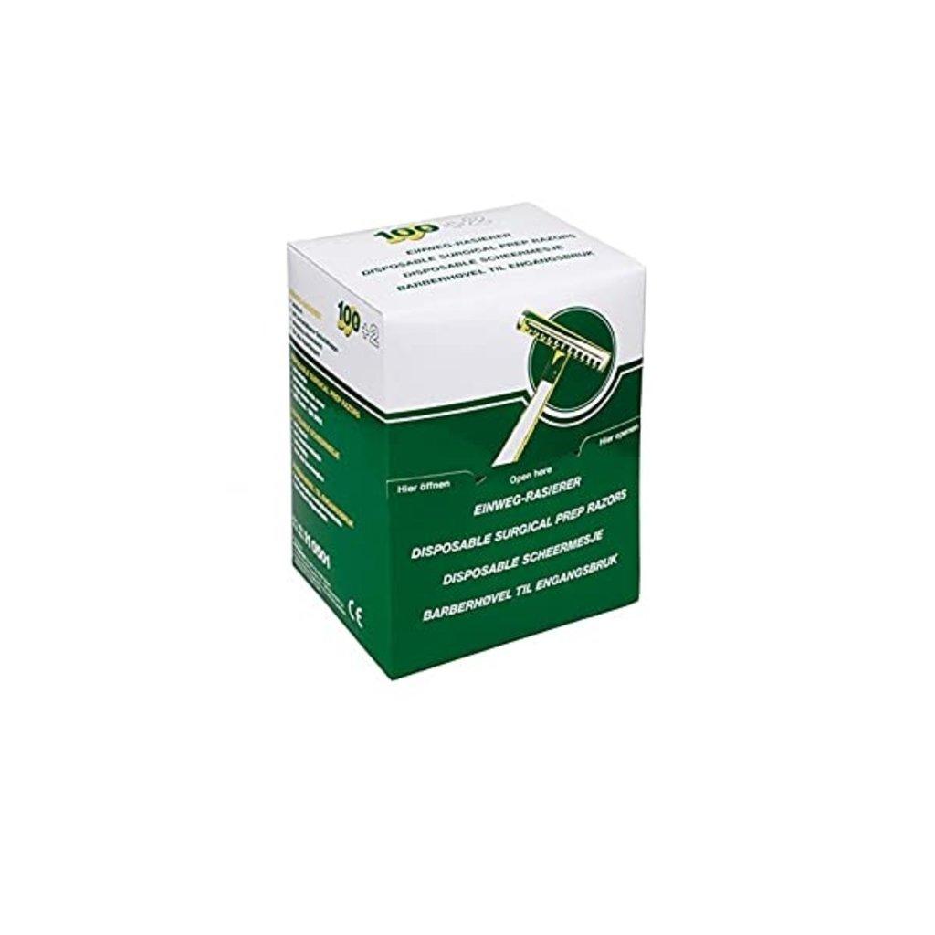 Mediware disposable scheermesjes/ 100st