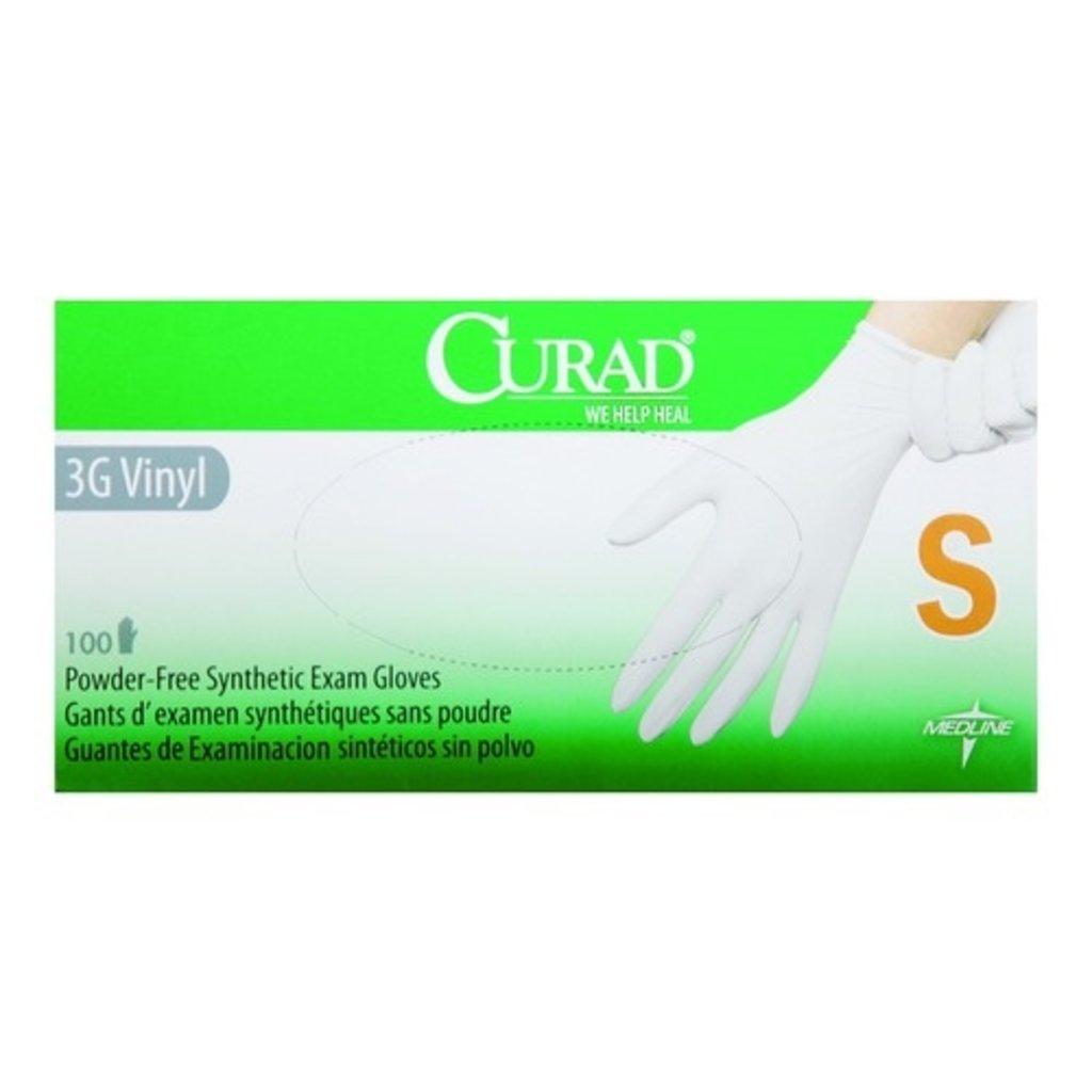 Medline Curad® 3G Stretch Vinyl Onderzoekshandschoenen