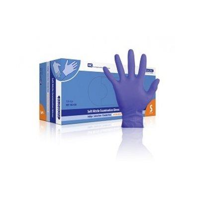 Handschoen Klinion Soft Nitriel paars latexvrij, poedervrij