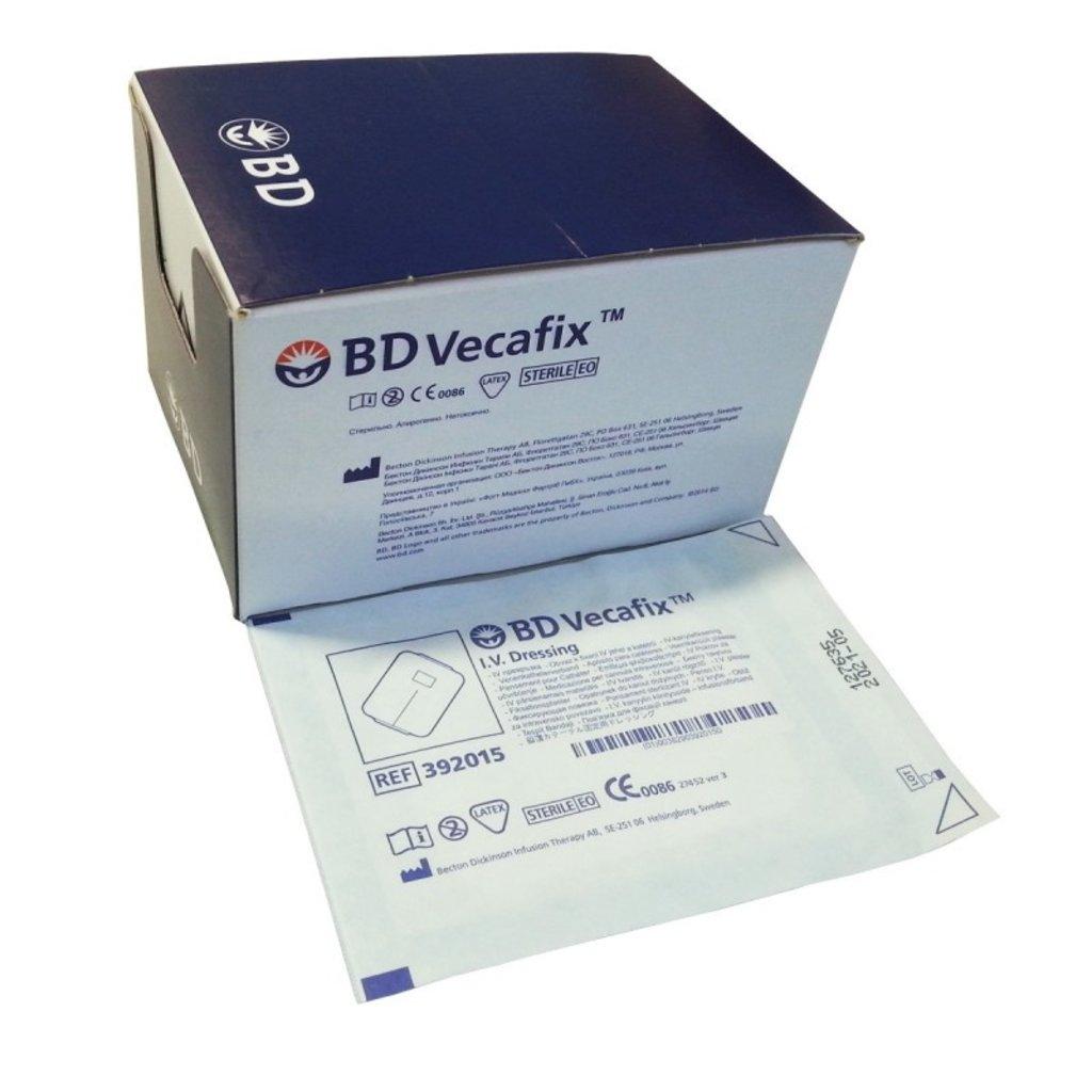BD Vecafix Infuuspleister 7,5 x 6cm/ 50st