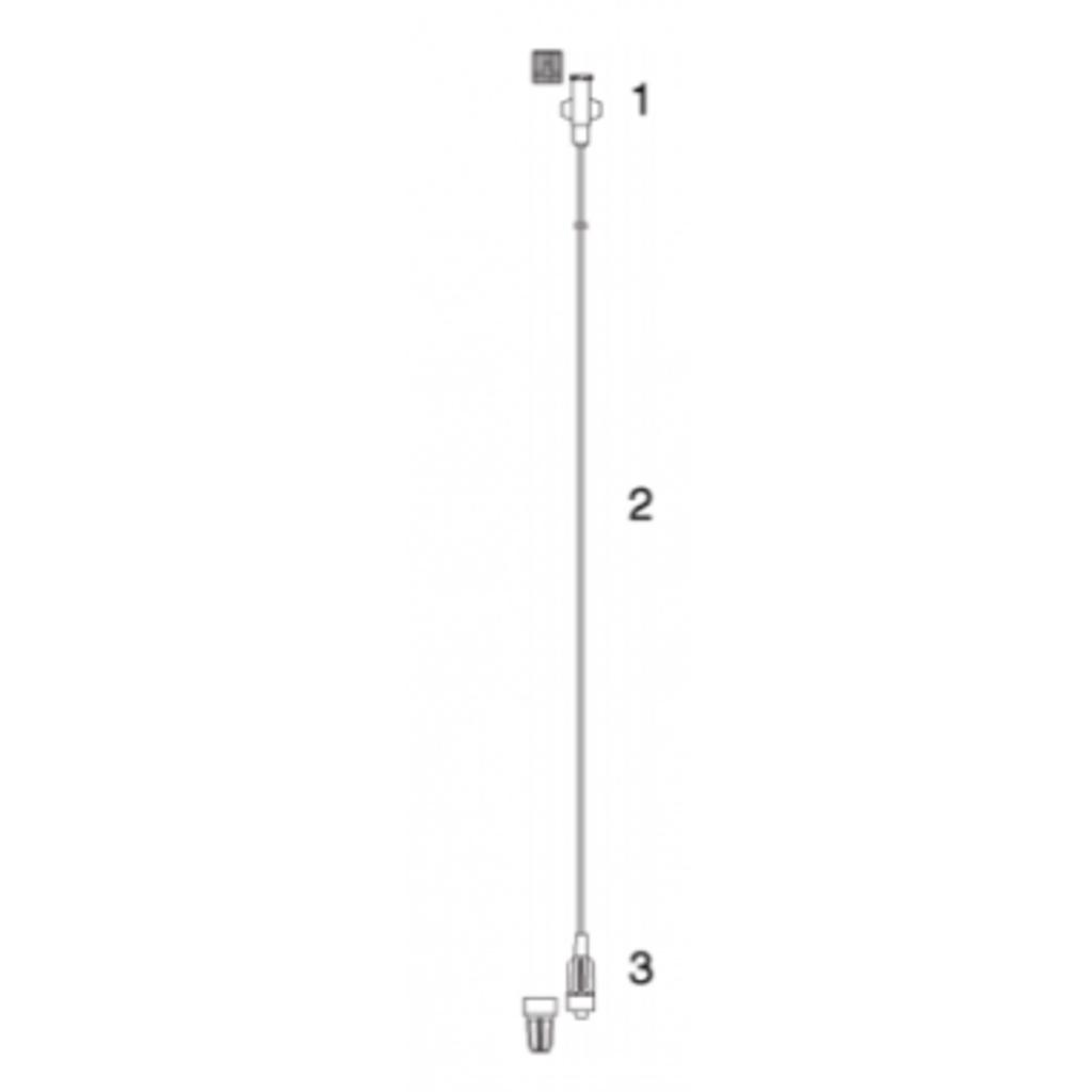Codan rallonge de perfuseur 2 m/ 100pc