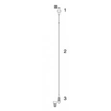 Codan perfusor verlengslang 2 m/ 100st